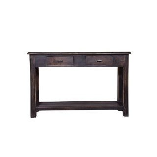 Platt Wooden Console Table For Sale