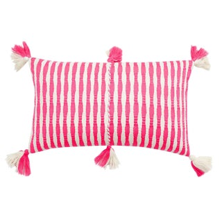 Antigua Neon Pink Pillow For Sale