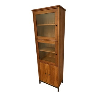 Room and Board Bar Storage Cabinet For Sale