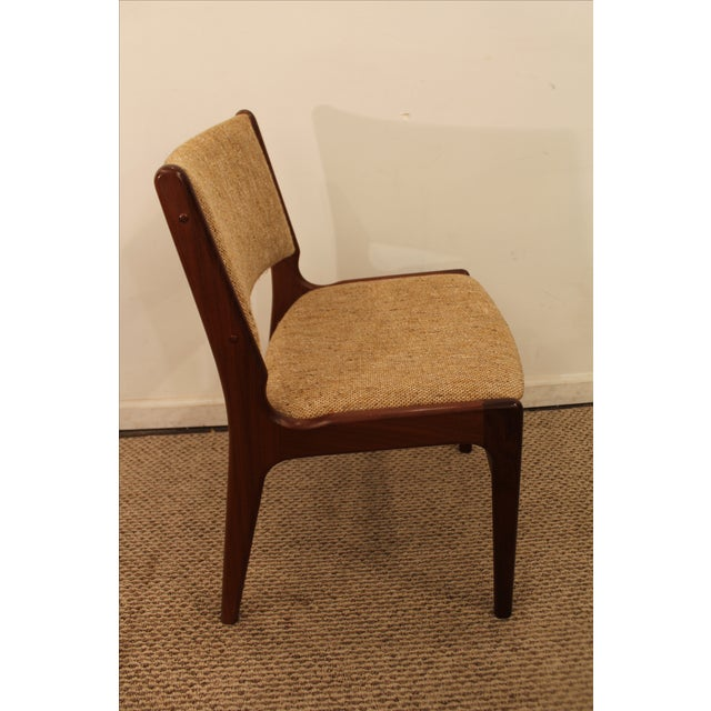 Hans Wegner Style Teak Dining Side Chair - Image 3 of 7
