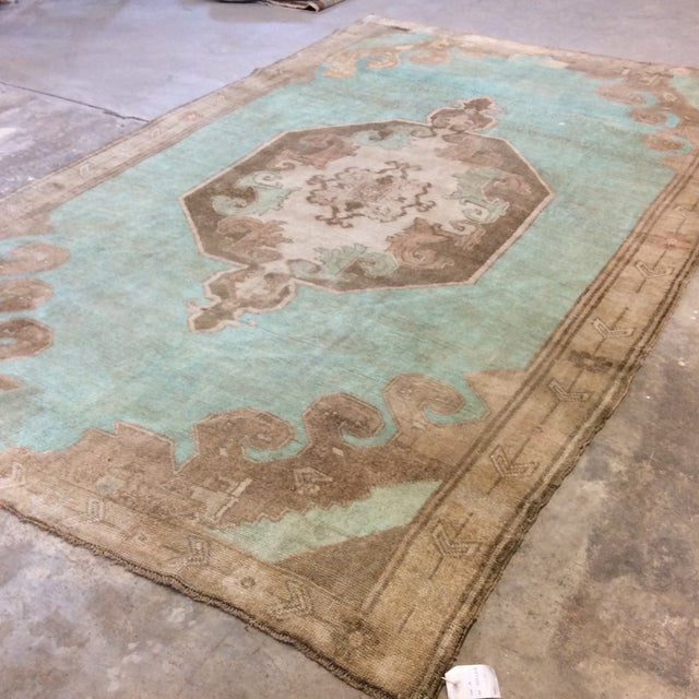 "Boho Chic Turkish Anatolian Rug -6'6""x10'6"" For Sale - Image 3 of 13"