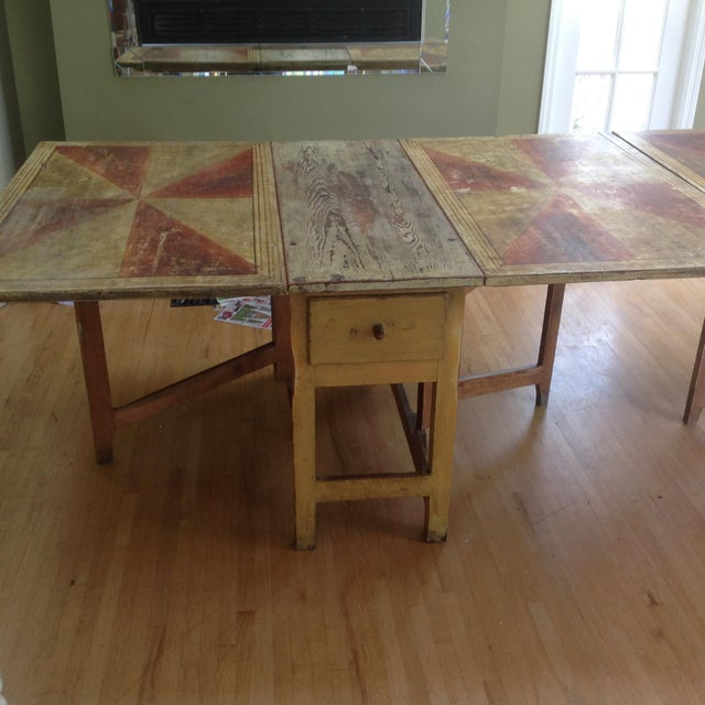 Gold & Amber Gustavian Dining Table - Image 8 of 9