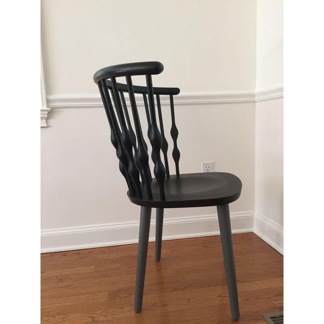 Beech Patricia Urquiola Nub Armchairs - Set of 6 For Sale - Image 7 of 10
