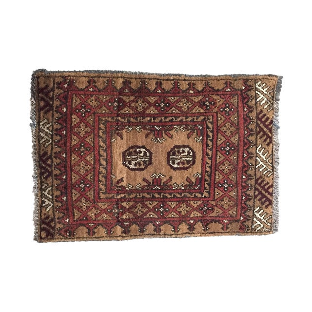 Turkaman Persian Rug - 1′7″ × 2′3″ - Image 1 of 9