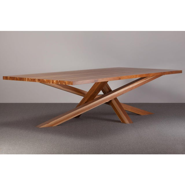 Early 21st Century Ebb and Flow Cross Dining Table For Sale - Image 5 of 5
