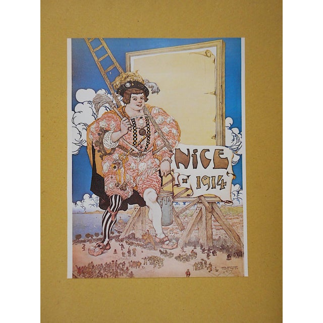 Vintage Posters by Listed Artists-Nice, France C.1973 - Image 2 of 4