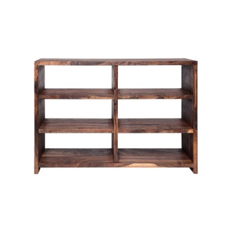 Walker Claro Walnut Bookshelf For Sale