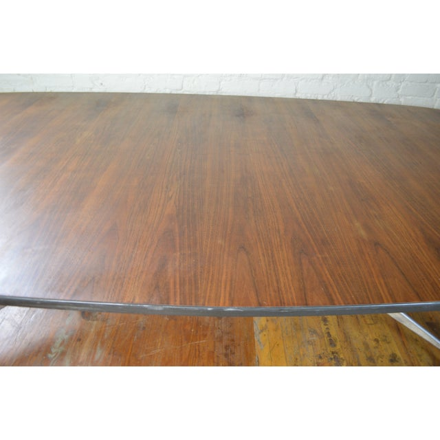 Aluminum Charles & Ray Eames for Herman Miller Aluminum Group Mid Century Modern Conference Table For Sale - Image 7 of 9