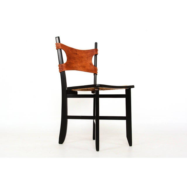 For your consideration a pair of folding side chairs. Clever design for safe and easy folding system. Original cane...