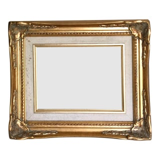 French Filigree Gold Frame