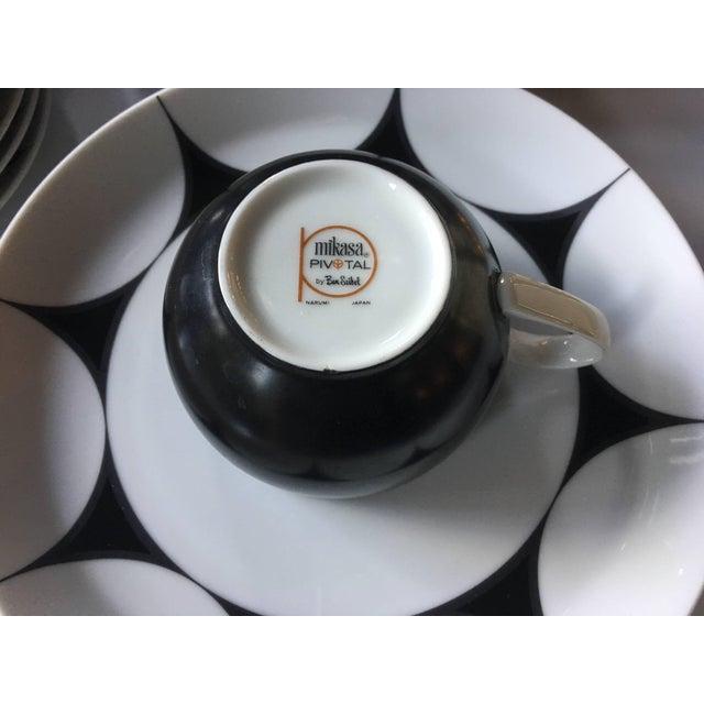 Black Ben Seibel Dinner Service For Sale - Image 8 of 9