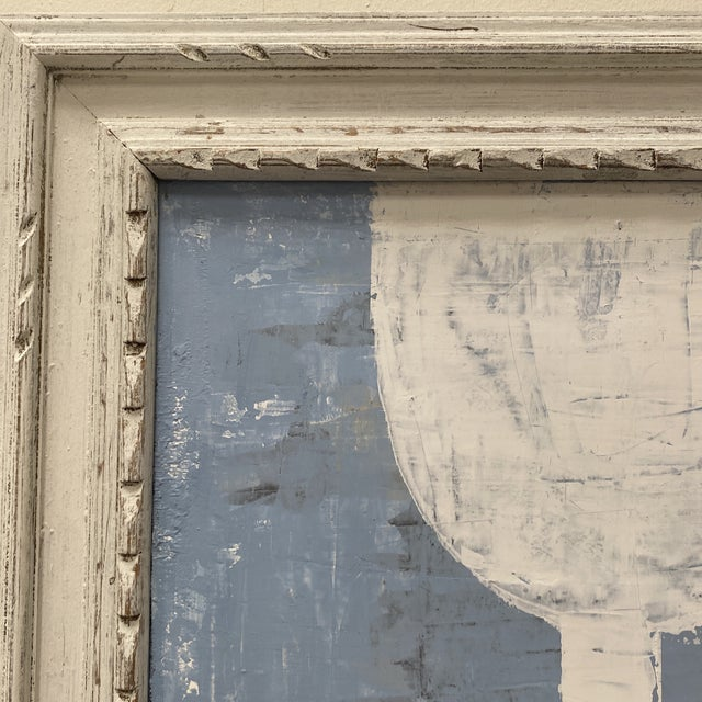 Abstract Mixed-Media Painting, Framed For Sale - Image 11 of 12