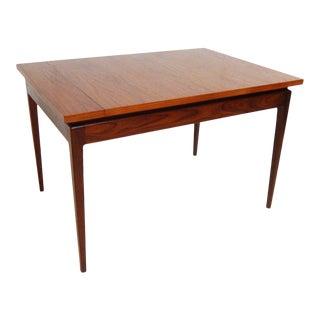 20th Century Danish Modern Johannes Andersen Teak Dining Table For Sale