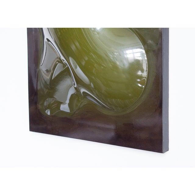 Niel Fiertel Vacuum Molded Plexi Wall Sculpture - Image 6 of 9