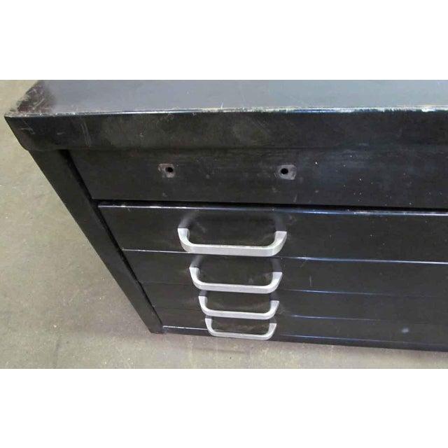 Black Metal Map Cabinet - Image 3 of 7