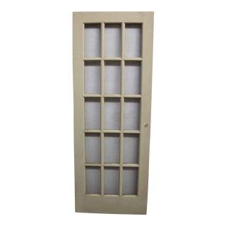 15-Pane French Door
