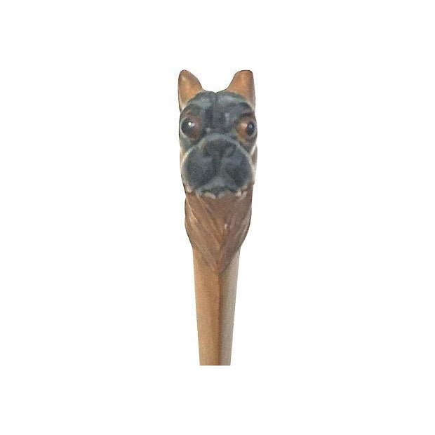 Vintage Dog Handle Spoon For Sale - Image 5 of 9