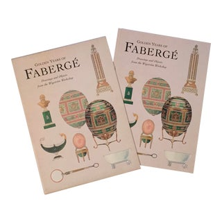 Golden Years of Faberge, Drawings and Objects From the Wigstrom Workshop, Slip Cased, 2000 For Sale