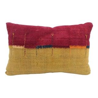 Antique Chador-Shab Pillow For Sale