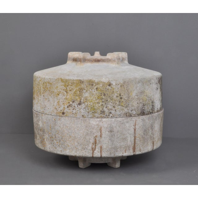 Round Form Jardiniere With Foot/ Switzerland 1960s For Sale - Image 4 of 6