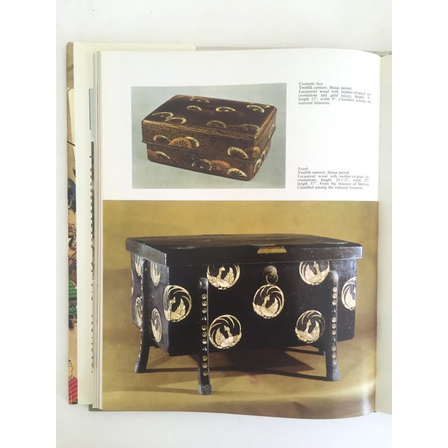 """Red """" National Museum Tokyo """" Vintage 1968 Rare Collector Hardcover Art Book For Sale - Image 8 of 11"""