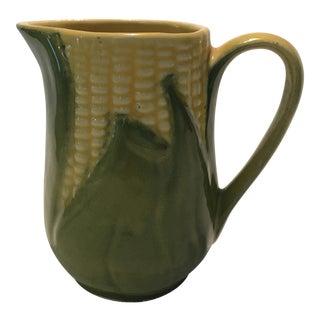 Shawnee Pottery Corn Ware Pitcher Creamer