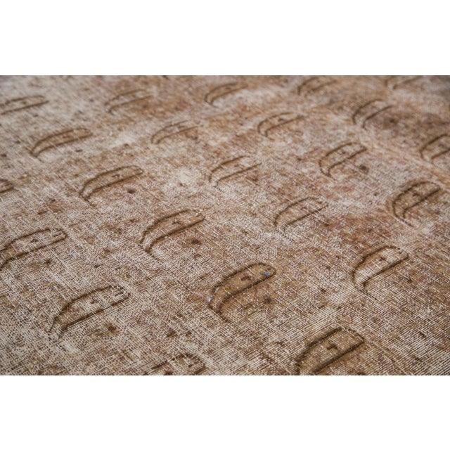 """Distressed Vintage Khorassan Carpet - 7'10"""" x 11'3"""" - Image 7 of 7"""