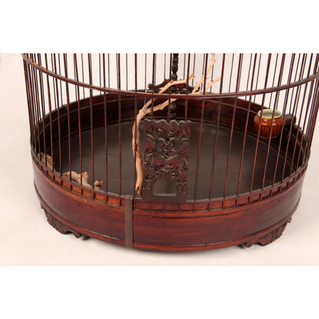 Chinese Early 20th Century Chinese Bamboo Cage For Sale - Image 3 of 8