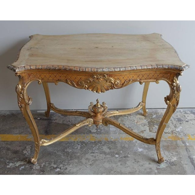 19th Century French Shell Design Table - Image 2 of 9