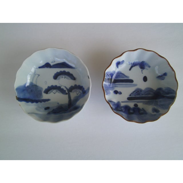 Oriental Blue & White Bowls - A Pair - Image 2 of 8
