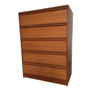 20th Century Danish Modern Teak 5-Drawer Chest