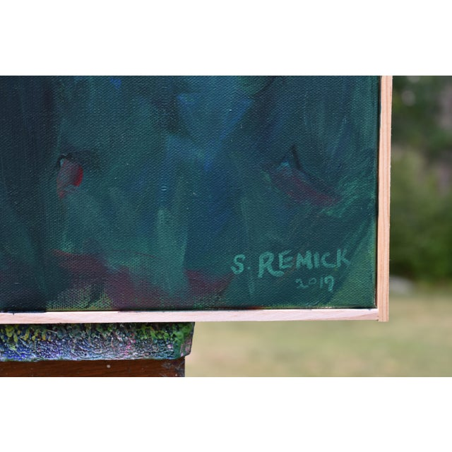 "Stephen Remick ""A Walk in the Woods"" Contemporary Painting For Sale In Providence - Image 6 of 12"