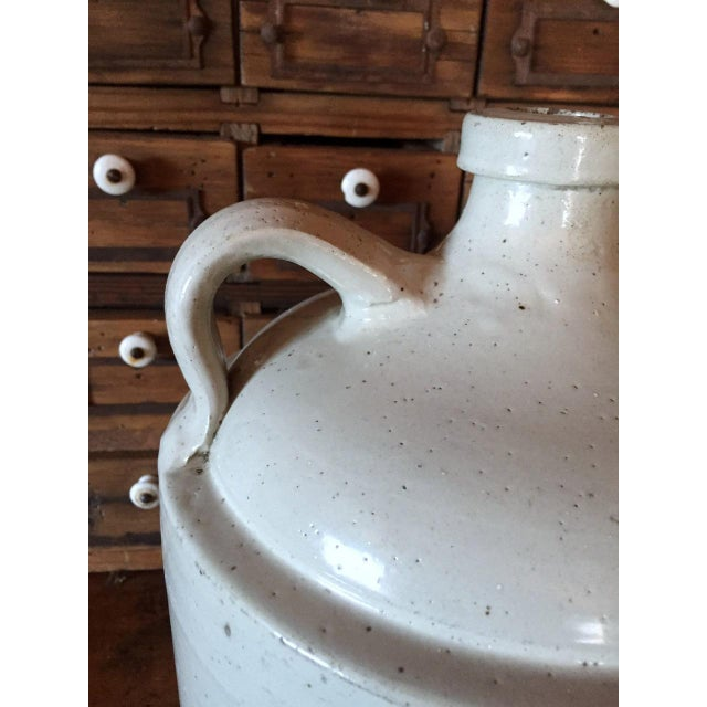 Grommes & Ullrich Pre-Prohibition Whiskey Jug Circa 1890's For Sale - Image 6 of 9