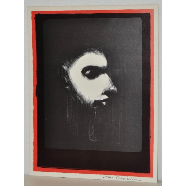 Black & White Lithograph by Nathan Oliveira For Sale - Image 4 of 6