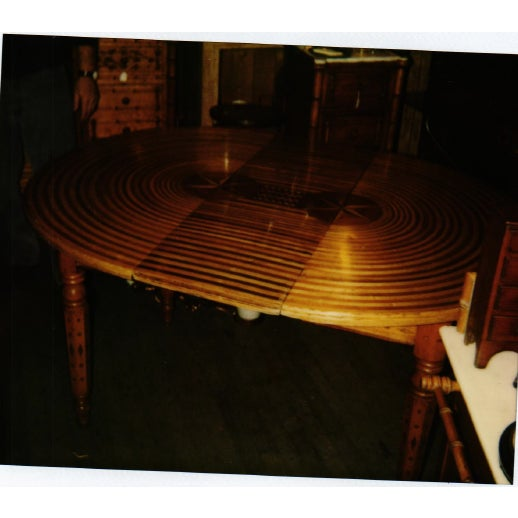American Folk Art Table For Sale - Image 9 of 9