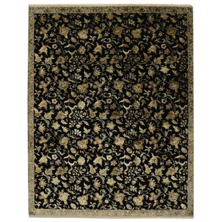 20th Century Hollywood Regency Style Area Rug - 9′2″ × 11′7″ For Sale
