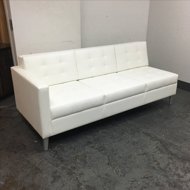 Gunlocke Single Arm Ciji Sofa - Image 3 of 8