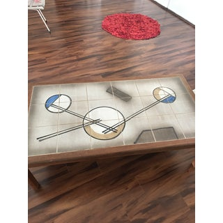 Danish Modern Mobler Tile Top Coffee Table Preview