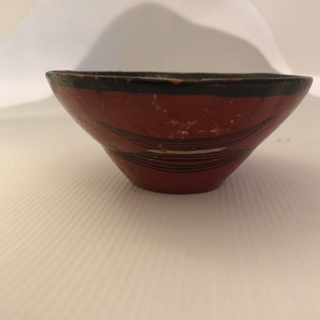 Ceramic Art Pottery Bowl For Sale - Image 7 of 13