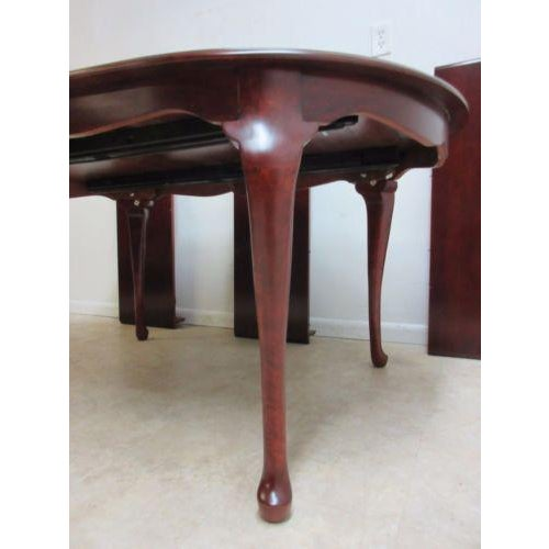 2010s Pennsylvania House Cherry Admiral Conference Table For Image 5 Of 11