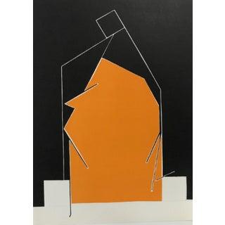 1970 Derriere Le Miroir Pablo Palazuelo Lithograph DM07184 For Sale