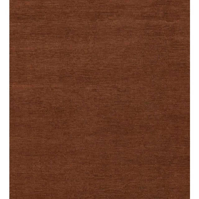 """Over Dyed Color Reform Cordelia Brown Wool Rug - 9'0"""" x 11'10"""" For Sale - Image 5 of 8"""