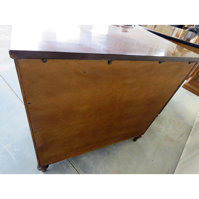 Pair of Kittinger Georgian Style Rosewood Commodes For Sale - Image 9 of 11