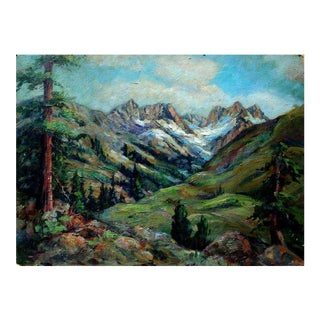Sierra Mountains and Redwoods by Helen Gleiforst For Sale