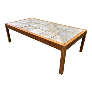 Vintage Danish Coffee Table Mobler Tile For Sale