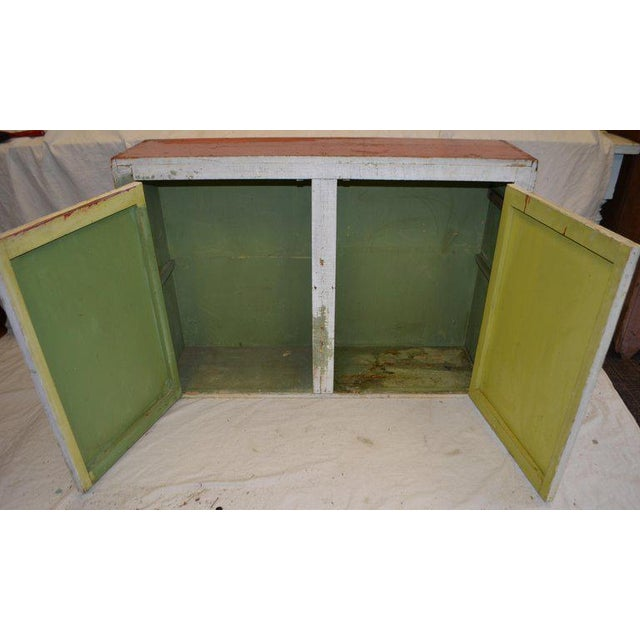 Cupboard Freestanding From Mid-1900s for Hallway, Kitchen or Entranceway Storage For Sale - Image 4 of 12