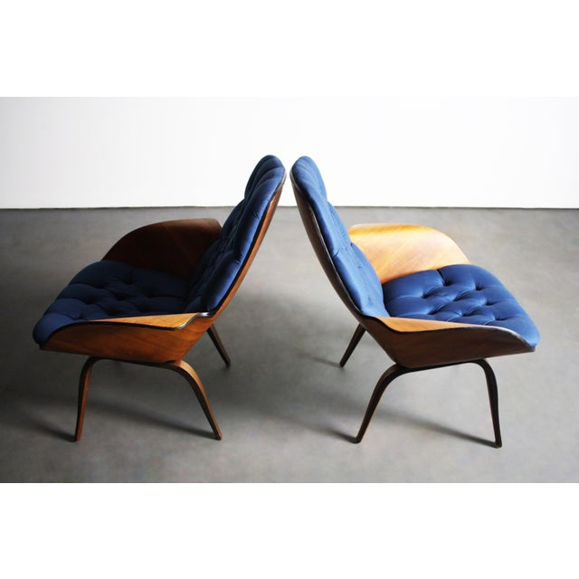 George Mulhauser for Plycraft Lounge Chairs - Pair - Image 8 of 11