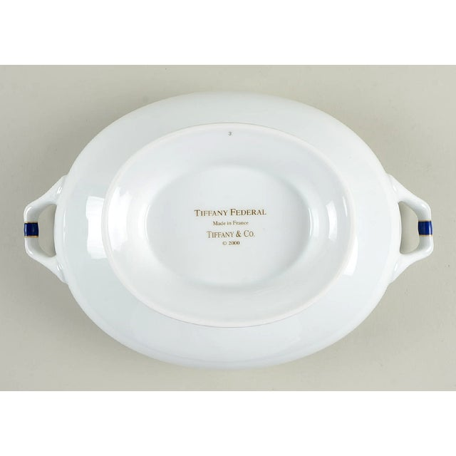 Tiffany Federal Oval Covered Server For Sale In Greensboro - Image 6 of 8