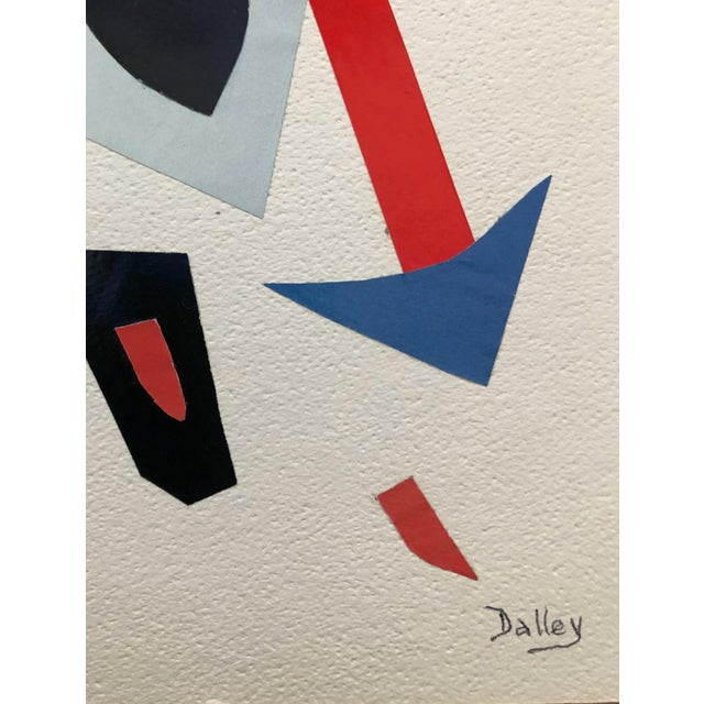 Abstract Frustration Modern Collage by Dalley For Sale - Image 3 of 6