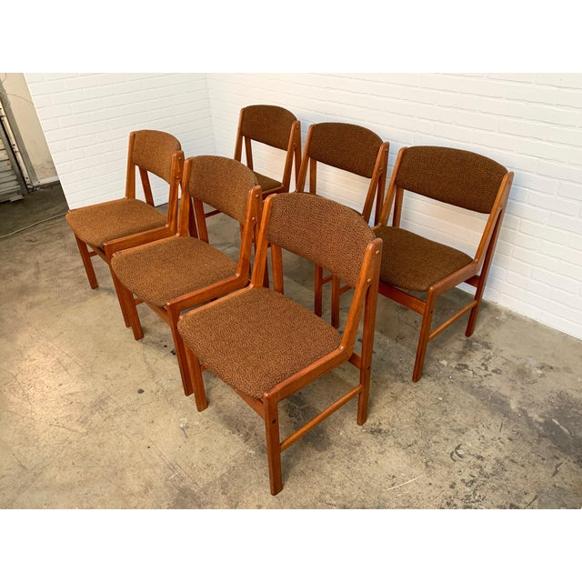 Mid-Century Modern Danish Modern Dining Chairs by Artfurn, Denmark For Sale - Image 3 of 13